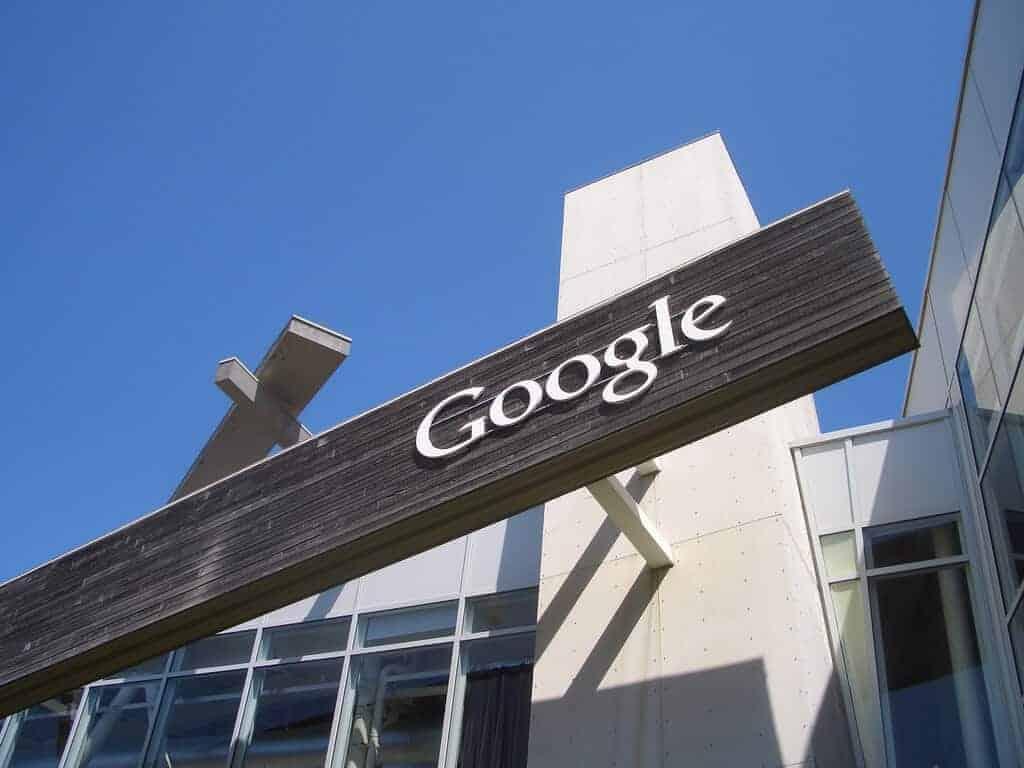 Google Logo at Building