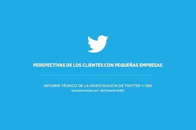 Perspectiva de los clientes en Twitter para las PyMES